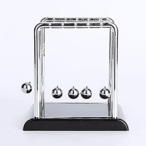 cheap Educational Toys-Balls Newton Cradle Balance Ball Classic Metalic Stainless Steel Plastic Boys' Girls' Toy Gift