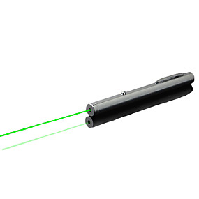 abordables Pointeurs Laser-Pen en forme Pointeur laser 532nm Aluminum Alloy
