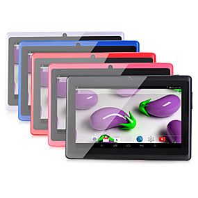 billige Tabletter-A33 7 tommers Android tablet (Android 4.4 1024 x 600 Kvadro-Kjerne 512MB+8GB) / TFT / # / 32 / TFT / Mikro USB