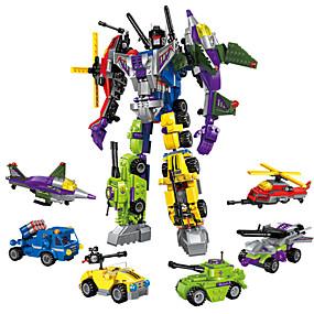 hesapli Robotlar, Canavarlar ve Uzay Oyuncakları-ENLIGHTEN Robot Legolar 506 pcs Askeri Savaşçı Makina uyumlu Legoing transformable Yaratıcı Havalı Klasik & Zamansız Şık & Modern Özel Genç Erkek Genç Kız Oyuncaklar Hediye