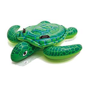 hesapli Havuz ve Su Eğlencesi-Kaplumbağa Şişme Havuz Şamandıraları Havuz Şezlongları PVC Yetişkinler Çocuklar Oyuncaklar Hediye