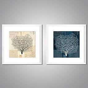 povoljno Trends-Print Uokvirena Canvas Ispis - Sažetak Cvjetni / Botanički Tradicionalno Realism