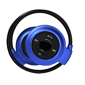 billige Hodetelefoner på øret og over øret-LITBest Over-øret hodetelefon Trådløs Reise og underholdning V4.0 Med mikrofon