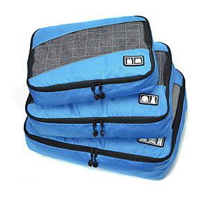 povoljno Putovanje-3 komada Putna torba / Organizator putovanja / Organizer putne torbe Velika zapremnina / Prijenosno / Može se sklopiti Odjeća Tekstil / Poliester / Tkanina mrežice Putovanje
