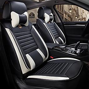 abordables Accessoires Intérieur de Voiture-dégagement odeer couvre-siège auto couvre-siège gris / violet / café en polyuréthane