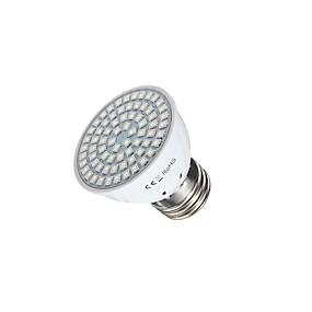 billige LED Økende Lamper-3 W LED-drivhuslamper 400 lm GU10 GU5.3(MR16) E26 / E27 MR16 72 LED perler SMD 2835 Rød Blå 220 V 110 V / 1 stk. / RoHs