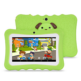 povoljno Tableti-7-inčni Android tablet (Android 4.4 1024*600 Quad Core 512 RAM 8GB ROM)