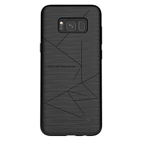 hesapli Cep Telefonu Kılıfları-Nillkin Pouzdro Uyumluluk Samsung Galaxy S8 Plus / S8 Buzlu Arka Kapak Çizgiler / Dalgalar Yumuşak TPU için S8 Plus / S8