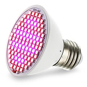 billige LED Økende Lamper-4,5 w e27 led vokse lys 106 smd 3528 800-850lm rød blå ac85-265 v 1 stk