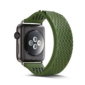 billige Smartwatch Bands-Klokkerem til Apple Watch Series 5/4/3/2/1 Apple Sportsrem Silikon Håndleddsrem