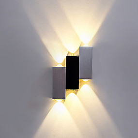 cheap Flush Mount Wall Lights-BriLight Modern / Contemporary Flush Mount wall Lights Indoor Metal Wall Light 90-240V 1W