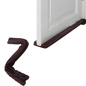 billige Lagring og oppbevaring-Twin dør utkast dodger vakt stopper energibesparende beskyttelse støvtett dørstokk hjem