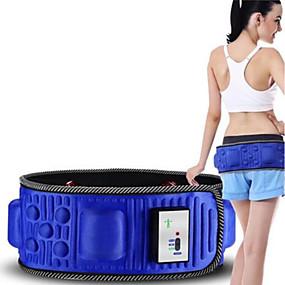 billige Sportsstøtter-Midje Massør Elektro-bevegelse Vibrering Magnetterapi Multifunksjonell Massasje