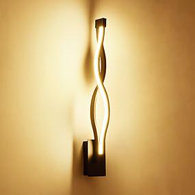 abordables Chandeliers Muraux-moderne led lampes de mur 16w métal créatif salon couloir chambre hôtel chambres chevet décoration éclairage