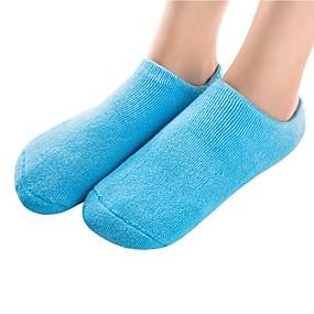 baratos Capas para Sapatos-2pçs Anti-Escorregar Absorção de impacto Protetor de Sapatos Gel Todos os Sapatos Todas as Estações Mulheres Azul Rosa claro