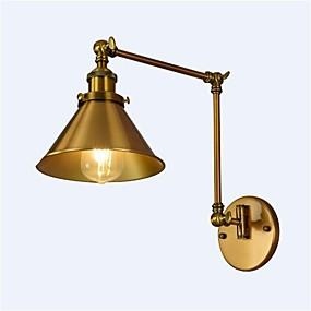 cheap Wall Lights-Simple / Vintage / Retro Swing Arm Lights Metal Wall Light 110-120V / 220-240V / E26 / E27