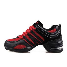 Per donna Sneakers da danza moderna Maglia traspirante Tacchi Zeppa Scarpe  da ballo Nero   Nero   Rosso   Nero   arancio   Da allenamento 95a05d4b7a0