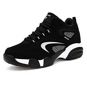 baratos Sapatos Esportivos Masculinos-Homens Sapatos Confortáveis Pele Nobuck Primavera / Outono Tênis Basquete Vermelho / Preto / Azul / EU40