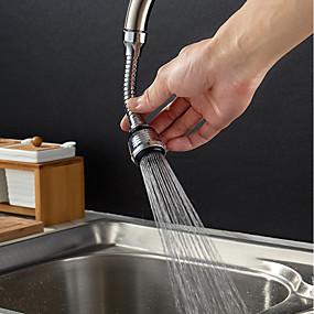 ieftine Produse De Curățat Bucătăria-oțel inoxidabil 360 grade rotativ de economisire a apei robinet robinet de aerare robinet duza filtru de apă robinet barbotator aerator