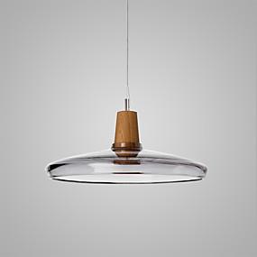 billige Hengelamper-Bowl Anheng Lys Omgivelseslys galvanisert Glass Glass Justerbar 110-120V / 220-240V Pære ikke Inkludert / E26 / E27