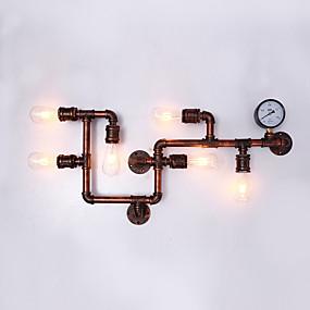 halpa Seinälampetit-retro teollinen tyyli metalliseinä seinävalo ruokasali pelihuone ja baari 6-kevyt vesijohto seinään sohva