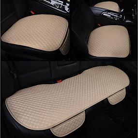 abordables Accessoires Intérieur de Voiture-dégagement coussins de siège auto coussins de siège beige fonctionnel pour universel tous les ans tous les modèles