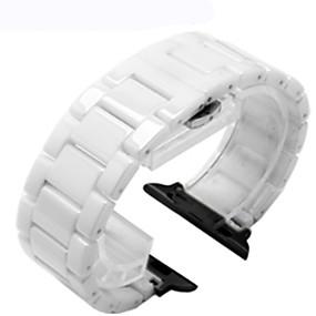hesapli Smartwatch Bantları-Watch Band için Apple Watch Series 4/3/2/1 Apple Klasik Toka Seramik Bilek Askısı