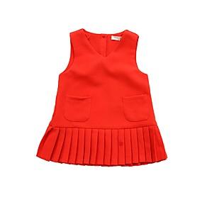 2c37961c6d2 Χαμηλού Κόστους Μόδα & Ρούχα-Νήπιο Κοριτσίστικα Καθημερινό Καθημερινά /  Αργίες Μονόχρωμο Αμάνικο Πολυεστέρας