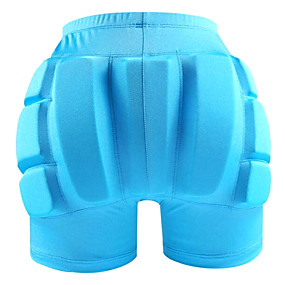 billige Vintersport-Impact shorts / Kompressionsshorts m. indlæg for Ski / Is Skøjtning Beskyttende Øvelse Sort / Fersken / Himmelblå