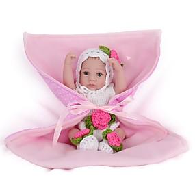 billige Legetøj-NPKCOLLECTION NPK DOLL Reborn-dukker Pige Doll Babypiger 12 inch Fuld krops silicone Silikone Vinyl - Nyfødt livagtige Nuttet Håndlavet Børnesikker Nyt Design Børne Unisex / Pige Legetøj Gave