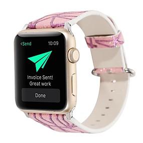 0d5826f64c7 Ver Banda para Apple Watch Series 4/3/2/1 Apple Correa de Cuero Cuero  Auténtico Correa de Muñeca