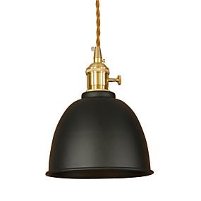 abordables Plafonniers-Lampe suspendue Lumière dirigée vers le bas Finitions Peintes Métal Antireflet, Style mini, Protection des Yeux 110-120V / 220-240V Ampoule incluse / VDE / E26 / E27