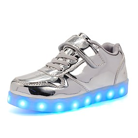 7304ebee9c73 Boys    Girls  Shoes PU(Polyurethane) Spring Light Up Shoes Sneakers LED  for Kid s Gold   Silver   Pink   Wedding   TR