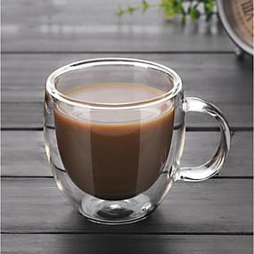 billige Drikkeglass-Drikkeglas High Boron Glass Kaffekrus kjæreste gave Boyfriend gave 1pcs