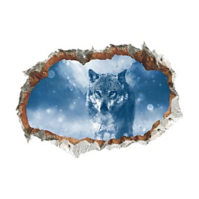 cheap Others-Decorative Wall Stickers - Animal Wall Stickers Animals Living Room Bedroom Bathroom Kitchen Dining Room Study Room / Office