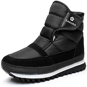 c1920f7f8a8 Ανδρικά Μπότες Χιονιού Πανί Φθινόπωρο / Χειμώνας Μπότες Παπούτσια Σκι  Μποτίνια Μαύρο