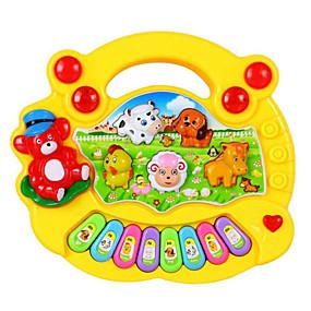 저렴한 음악, 예술 & 드로잉 장난감-전자 키보드 컬러 그라데이션 남여 공용 남아 여아 어린이 장난감 선물 1 pcs / 나무