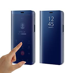 halpa Puhelimen kuoret-Etui Käyttötarkoitus Samsung Galaxy S9 / S9 Plus / S8 Plus Pinnoitus / Peili / Flip Suojakuori Yhtenäinen Kova Silikoni