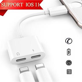 voordelige Apple-accessoires-Verlichting Adapter <1m / 3ft 1 tot 2 PVC USB kabeladapter Voor iPhone