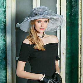 povoljno Kentucky Derby Hat-Organza kape s Mašnica 1pc Vjenčanje / Zabava / večer Glava