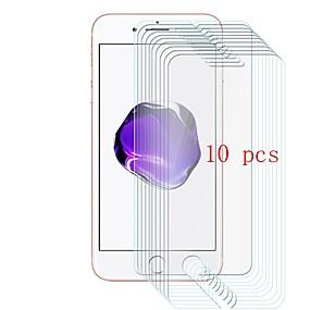 povoljno Zaštitne folije za iPhone-Screen Protector za Apple iPhone 8 Kaljeno staklo 10 kom. Prednja zaštitna folija 9H tvrdoća / Otporno na ogrebotine