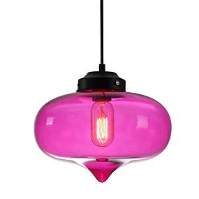 billige Hengelamper-Sirkelformet / Globe / Lineær Anheng Lys Omgivelseslys Glass Glass 110-120V / 220-240V