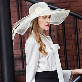 povoljno Kentucky Derby Hat-Lan Kentucky Derby Hat / kape s Cvjetni print 1pc Vjenčanje / Zabava / večer Glava