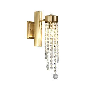 billige Krystall Vegglys-ZHISHU Mini Stil / Nytt Design Tiffany / Enkel Vegglamper Stue / Soverom / Spisestue Metall Vegglampe 110-120V / 220-240V 5 W
