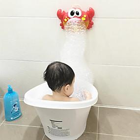 hesapli Havuz ve Su Eğlencesi-Banyo Oyuncakları Müzik Oyuncak Yengeç Hayvanlar Sevimli Plastik Kabuk Çocuklar için Yetişkin Hepsi Oyuncaklar Hediye 1 pcs