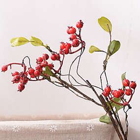 cheap Others-Artificial Flowers 1 Branch Classic Modern Contemporary Pastoral Style Fruit Tabletop Flower