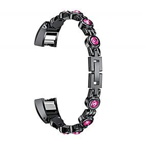 hesapli Smartwatch Bantları-Watch Band için Fitbit Alta HR / Fitbit Alta Fitbit Spor Bantları Paslanmaz Çelik Bilek Askısı