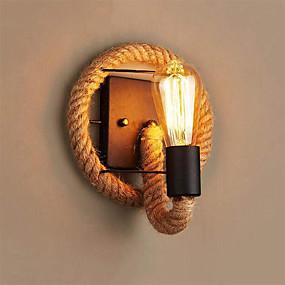 povoljno Sales-Mini Style Jednostavan / Vintage Zidne svjetiljke Stambeni prostor / Hodnik Metal zidna svjetiljka 110-120V / 220-240V 60 W / E26 / E27