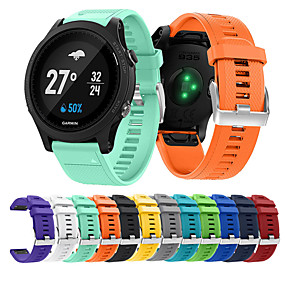povoljno Smartwatch bendovi-Pogledajte Band za Fenix 5 / Fenix 5 Plus / Forerunner 935 Garmin Sportski remen Silikon Traka za ruku