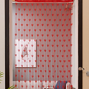 povoljno Poboljšanje uvjeta stanovanja-Vrata ploča Zavjese Zavjese Ulazak & mudroom Geometrijski oblici Polyester Reactive Print
